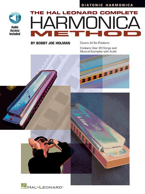 The Hal Leonard Complete Harmonica Method - The Diatonic Harmonica (Instructional) Book & Online Audio