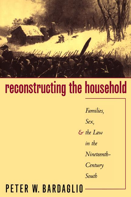 Reconstructing the Household: Families, Sex, and the Law in the Nineteenth-Century South (Studies...