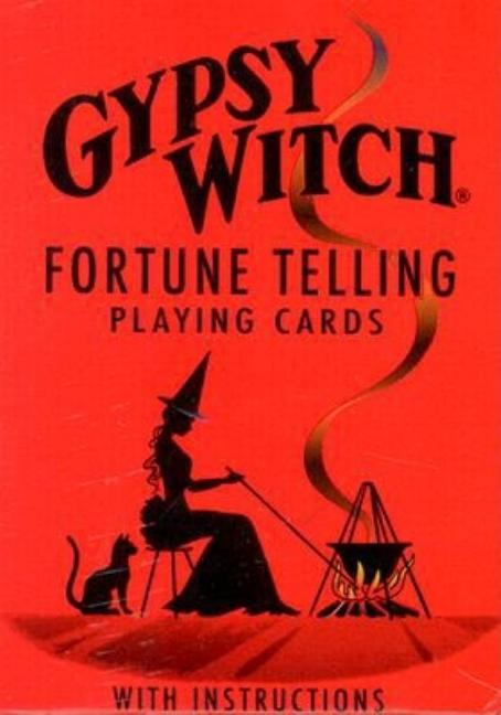 Gypsy Witch Fortune Telling Playing Cards. Not Available.