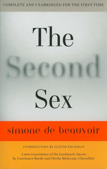 The Second Sex. Simone De Beauvoir