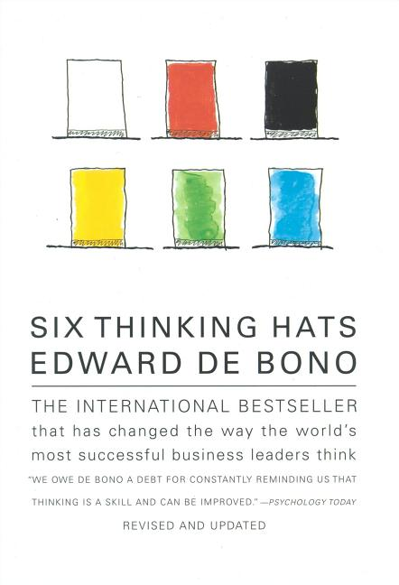 Six Thinking Hats. Edward De Bono