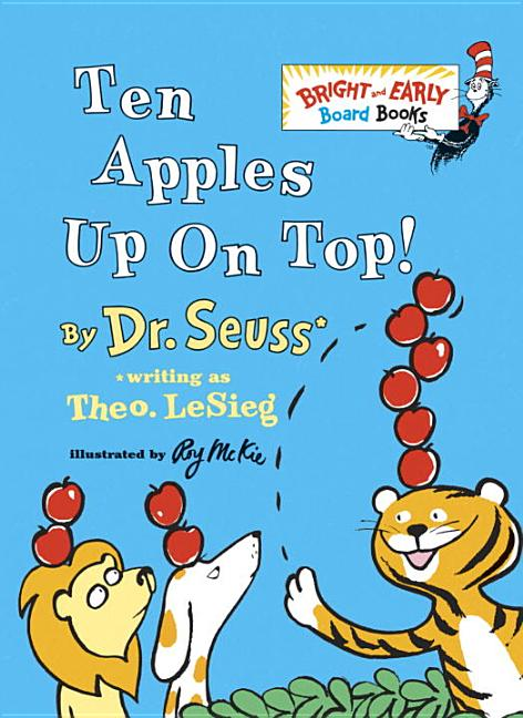 Ten Apples Up On Top! (Bright & Early Board Books(TM