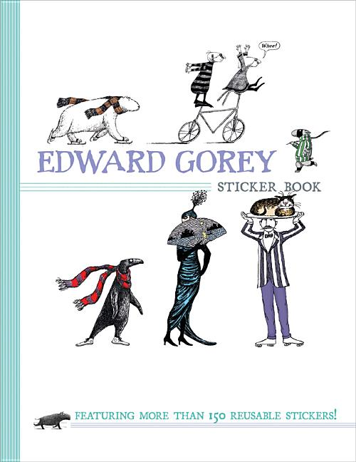 Edward Gorey Sticker Book. Edward Gorey