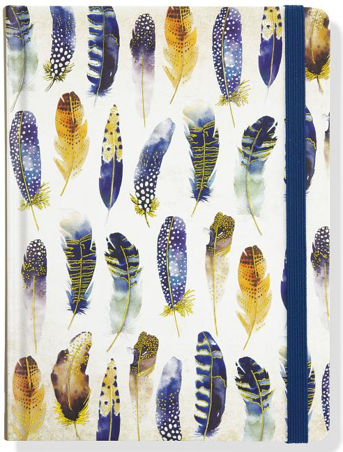 Watercolor Feathers Journal (Diary, Notebook). Inc. Peter Pauper Press.