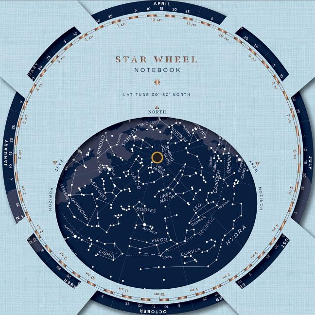 Star Wheel Notebook. Chronicle Books