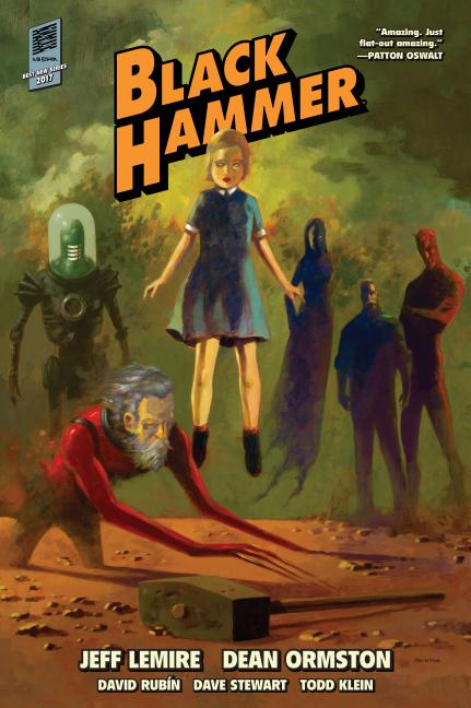 Black Hammer Library Edition Volume 1. Jeff Lemire