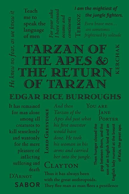 Tarzan of the Apes & The Return of Tarzan (Word Cloud Classics). Edgar Rice Burroughs