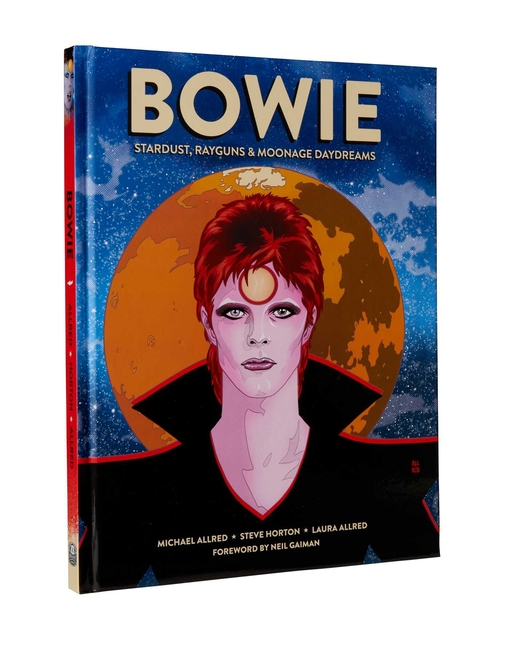 BOWIE: Stardust, Rayguns, & Moonage Daydreams (OGN biography of Ziggy Stardust, gift for Bowie...