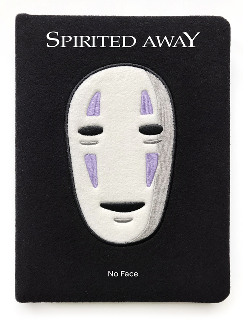 Spirited Away: No Face Plush Journal