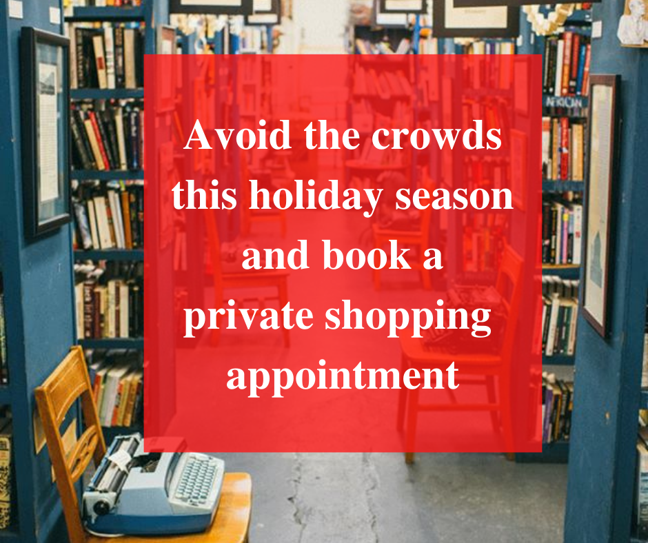 Book a private shopping appointment