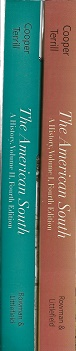 The American South: A History (in two volumes). William J. Cooper Jr., Thomas E. Terrill.