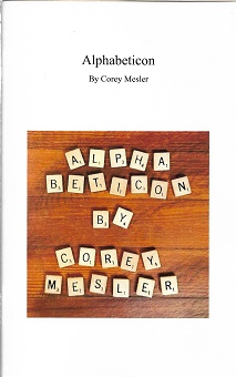 Alphabeticon [SIGNED]. Corey Mesler.