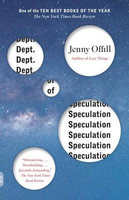 Dept. of Speculation (Vintage Contemporaries). Jenny Offill.