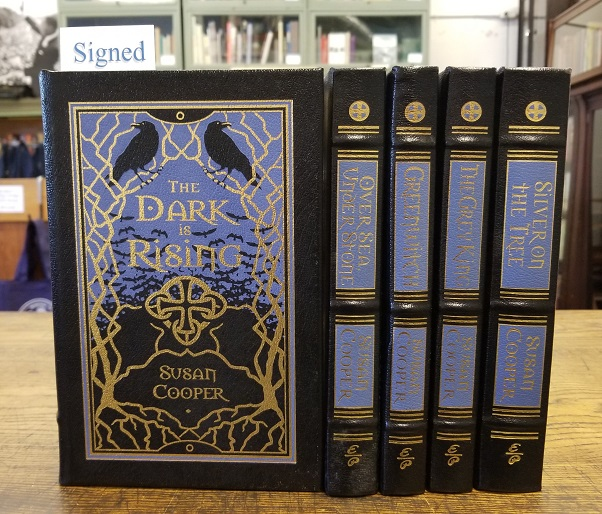 The Dark is Rising Sequence (5 volumes) [SIGNED]. Susan Cooper.