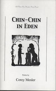 Chin-Chin in Eden. Corey Mesler, , Cover, Tim Crowder.