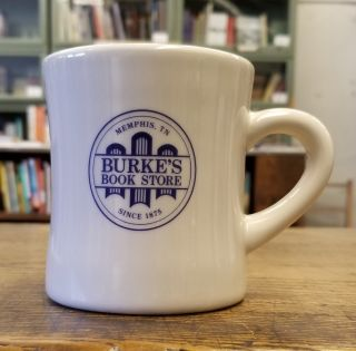 Burke's Book Store Coffee Mug