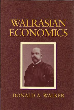 Walrasian Economics. Donald A. Walker.