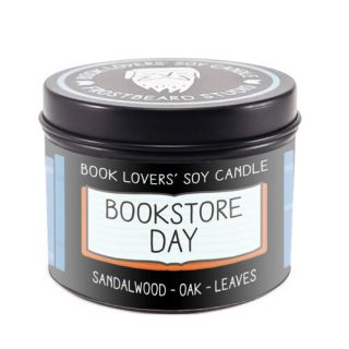 Book Lovers BOOKSTORE DAY Soy Candle