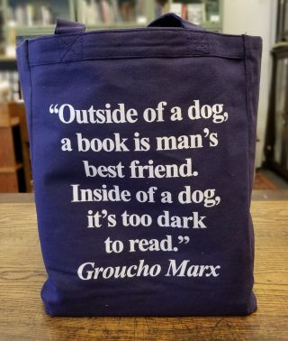 Burke's Book Store Tote Bag